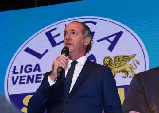 Luca Zaia riconfermato governatore della Regione Veneto (Ansa)