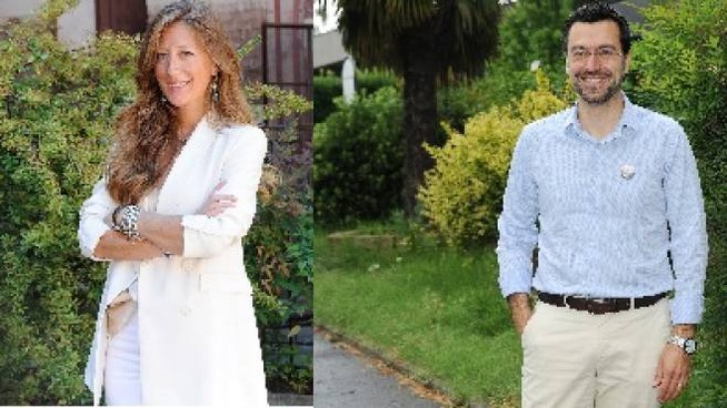 Carolina Toia e Lorenzo Radice
