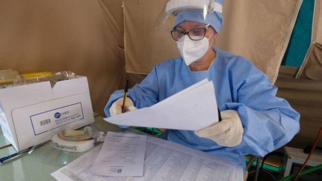 Coronavirus, il bollettino di oggi 23 settembre: 32 nuovi contagi nelle Marche (foto Ansa)