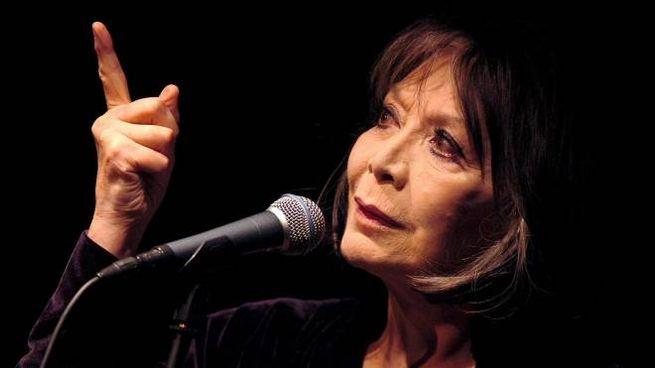 Juliette Greco in un'immagine del 2005 (Ansa)