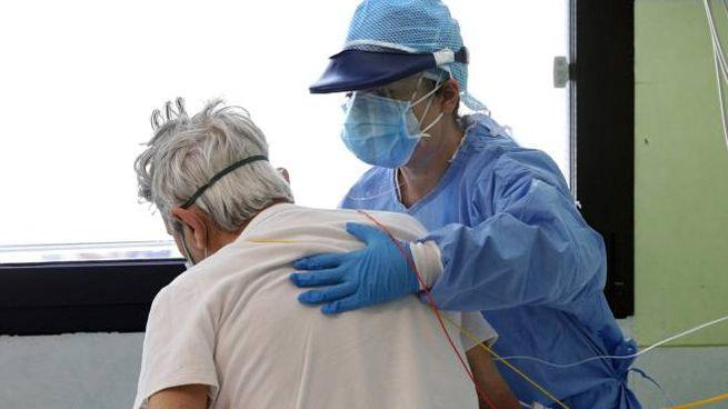 Coronavirus in corsia (Foto Dire)