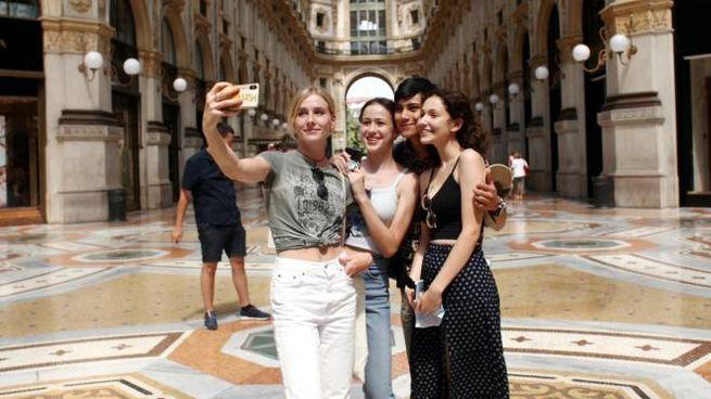 Turiste in Galleria