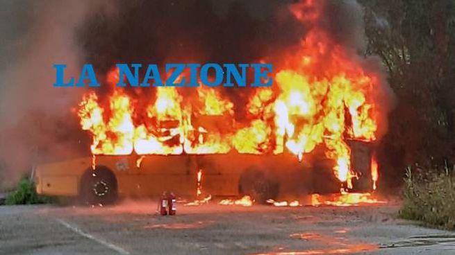 Il bus a fuoco