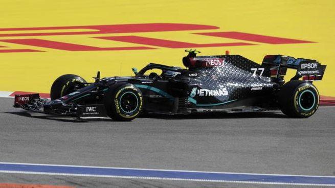 La Mercedes-AMG Petronas di Valtteri Bottas (Ansa)