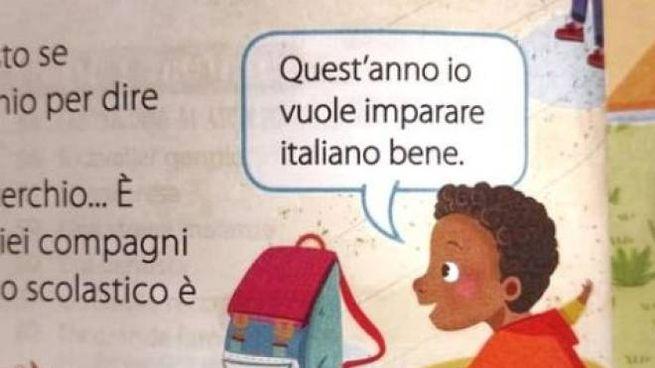 """Scuola, la vignetta del libro finita nella bufera perché """"razzista"""""""