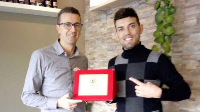 Mirko Galligani e, a destra, Fabio Riccardo: i due titolari de La Dogana