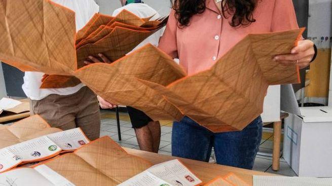 La scheda elettorale delle regionali (New Press Photo)