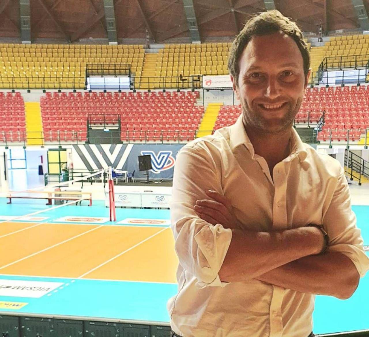 Gianpaolo Martire, responsabile marketing del Consorzio Vero Volley