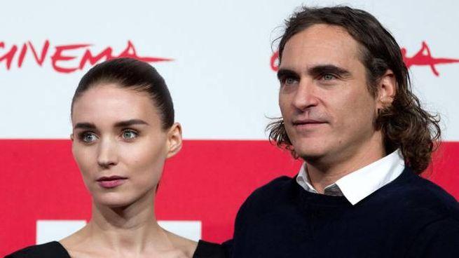 Joaquin Phoenix e Rooney Mara al Festival di Roma 2013