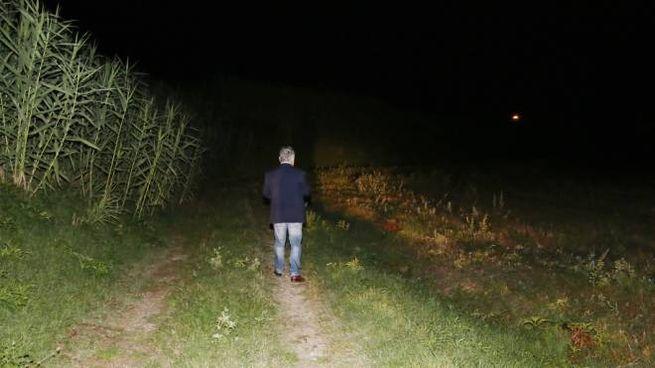 Il luogo del ritrovamento (foto Bongianni/Germogli)