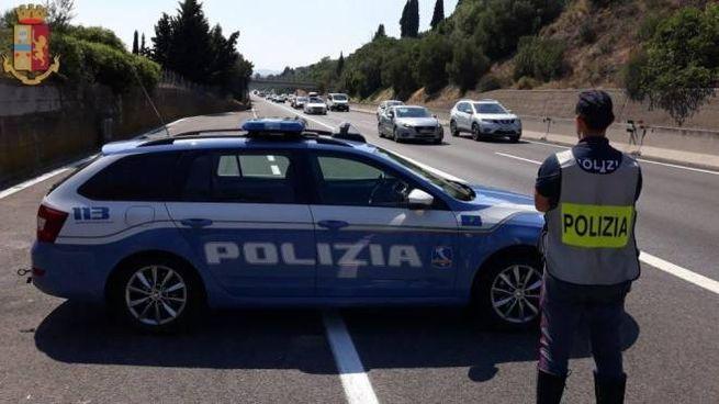 Una volante della polizia di Siena