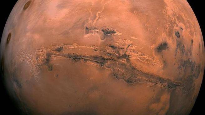 Laghi salati su Marte (Ansa)