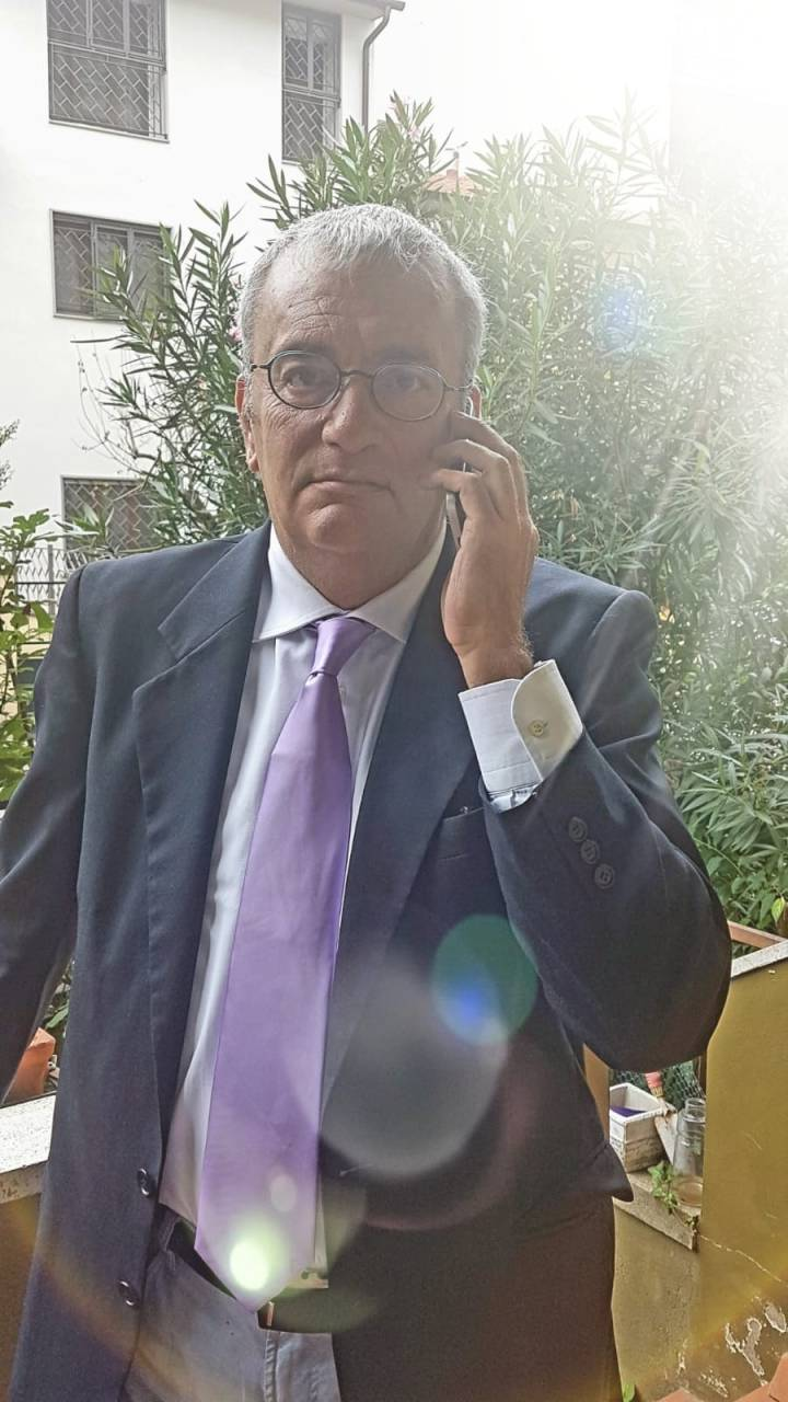 Vittorio Betti prima di essere contagiato dal coronavirus