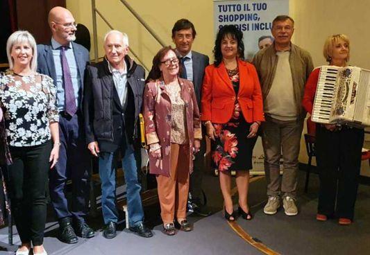 Alcuni dei protagonisti del premio letterario Cibotto