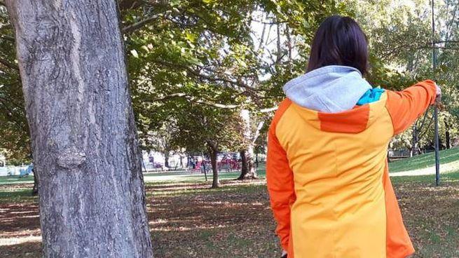 Il luogo da cui è partita la prima denuncia: il parco Scarpellini