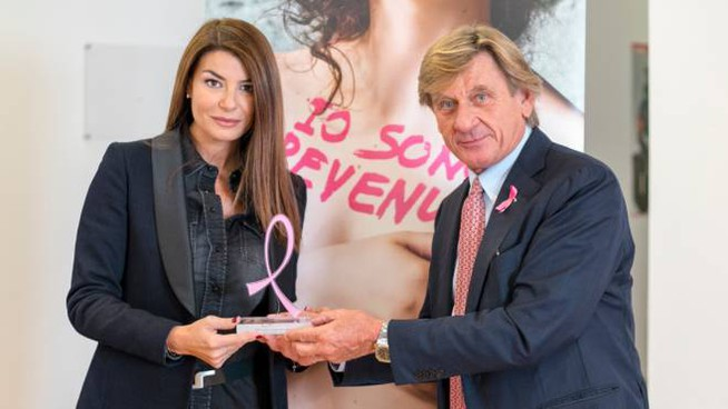 Premio Lilt for Women a Ilaria D'Amico