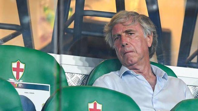 Il patron del Genoa, Enrico Preziosi (Ansa)