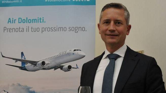 Joerg Eberhart, presidente e ad di Air Dolomiti (Frasca)