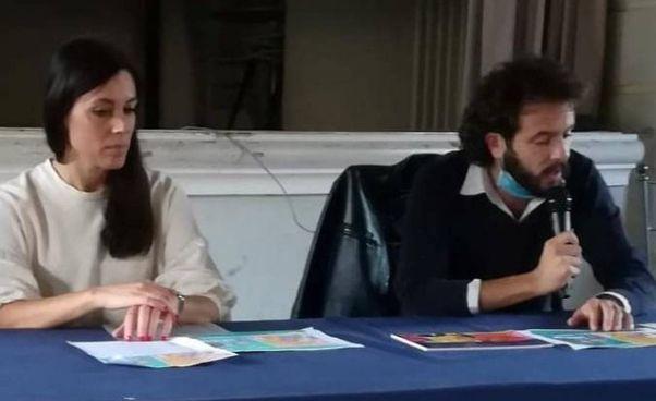 Lucia Morelli e il sindaco Patrizio Andreuccetti