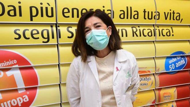 Italia Conforti della farmacia Rhodigium (foto Donzelli)