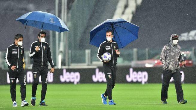Allo Juventus Stadium non si gioca (Ansa)
