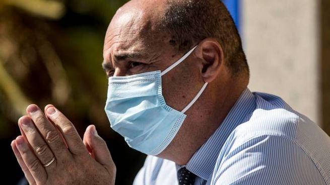 Il presidente della Regione Lazio e segretario del Partito Democratico Nicola Zingaretti