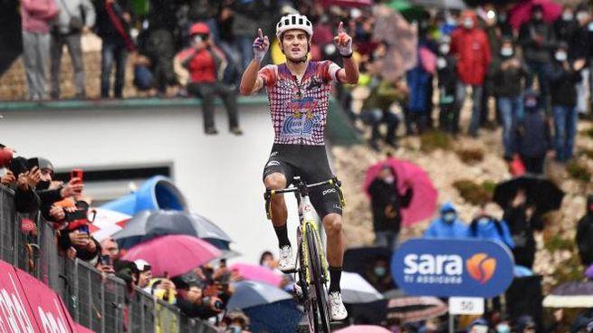 Guerreiro vince la nona tappa del Giro d'Italia 2020 (Ansa)
