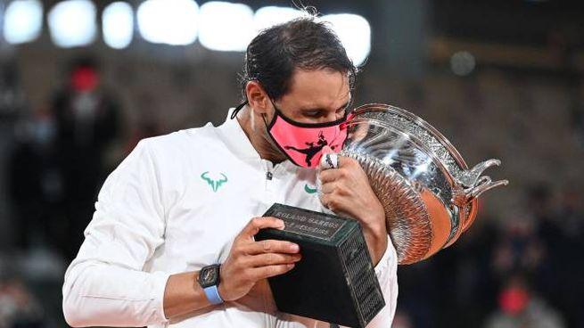 Rafael Nadal ha vinto per la tredicesima volta il Roland Garros (Ansa)