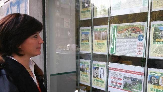 Annunci immobiliari (Foto di archivio)