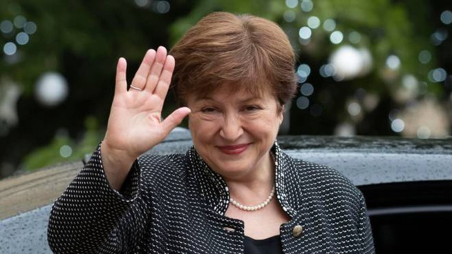 Kristalina Georgieva, direttrice operativa del Fondo monetario internazionale (Ansa)