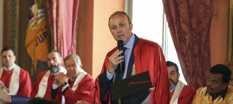 Il presidente dell'Università popolare di Milano, Marco Grappeggia