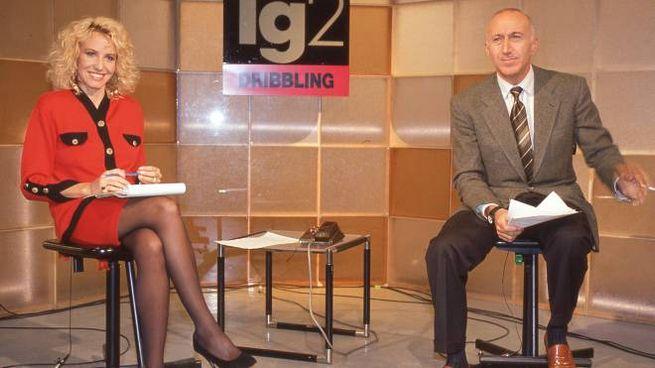 Antonella Clerici e Gianfranco De Laurentiis a Dribbling (Ansa)