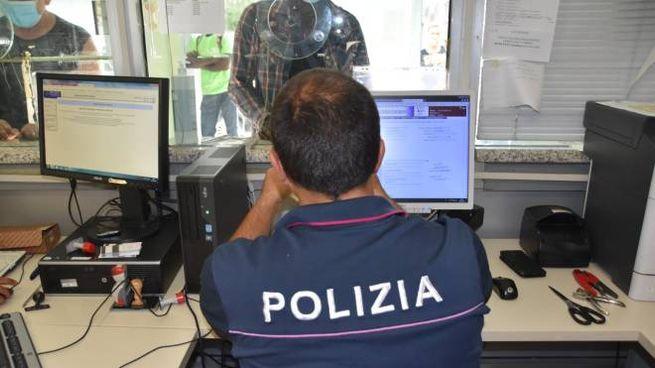 La sala operativa della questura di Lucca