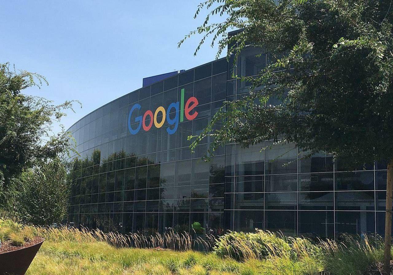Il quartier generale dell'azienda statunitense Google, a Mountain View in California, nel cosiddetto Googleplex