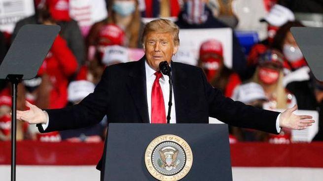 Il presidente Donald Trump in Pennsylvania