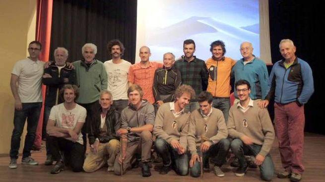 I finalisti dell'anno scorso con la giuria