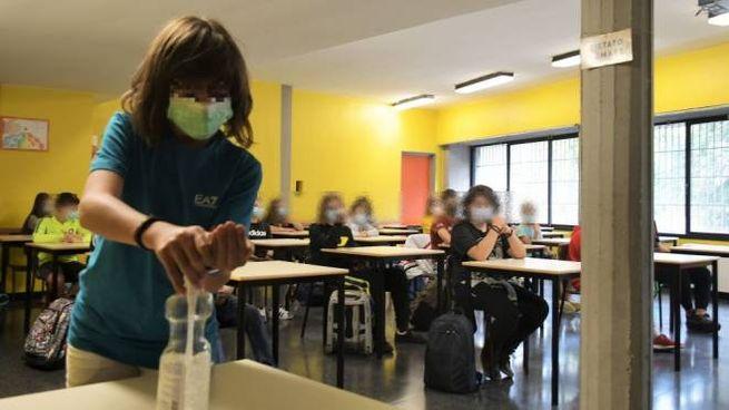 Scuola chiusa per coronavirus (foto di repertorio)