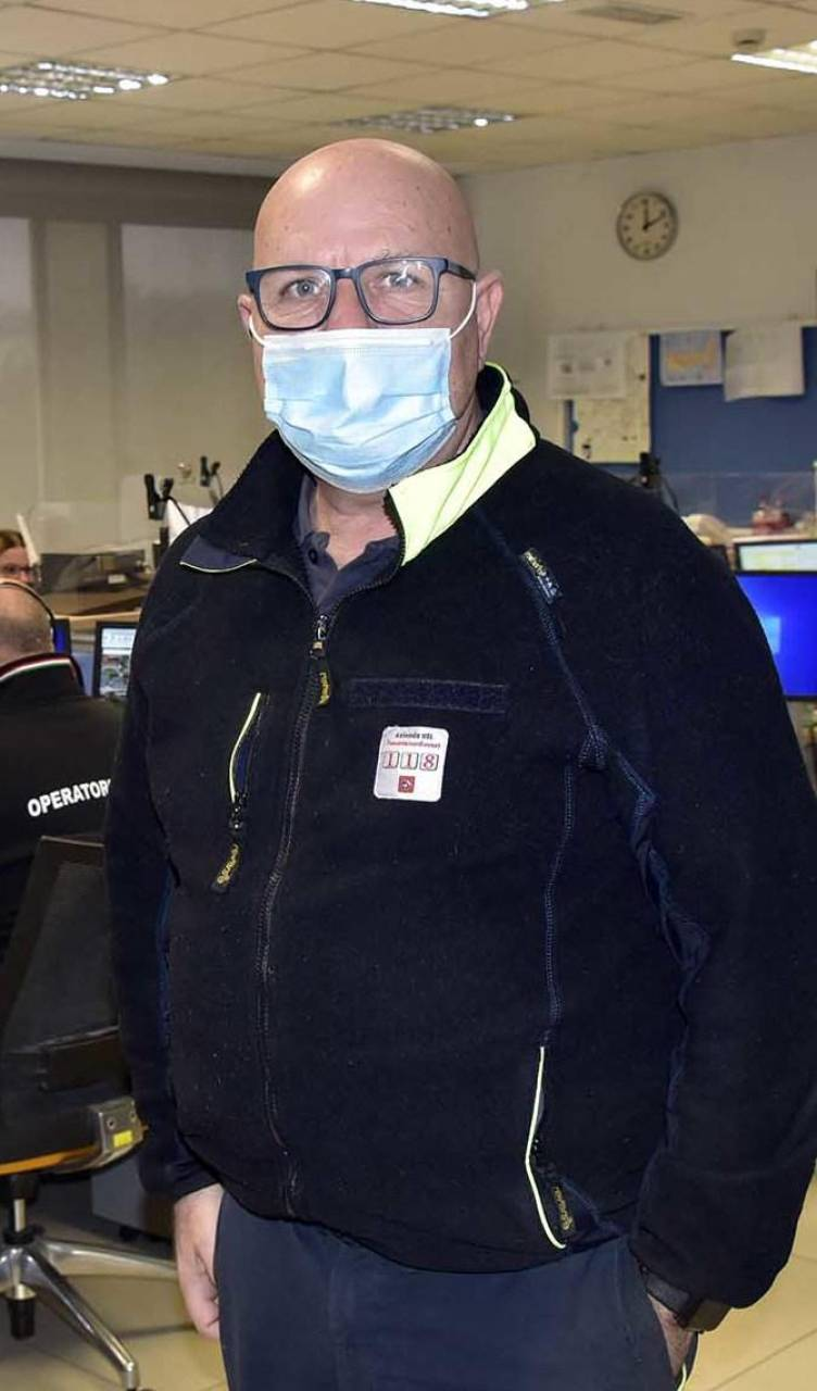 Il dottor Dario Bitonti