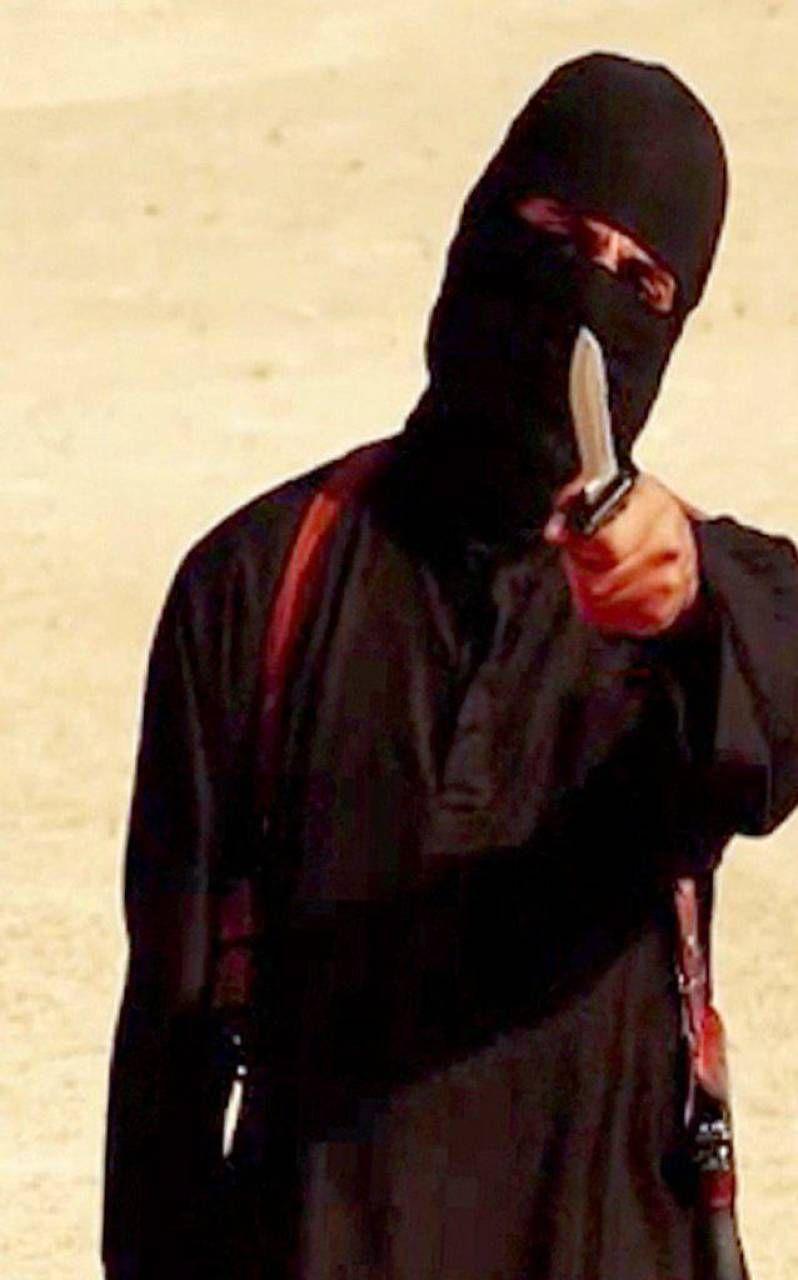 Jihadi John in un video dell'Isis