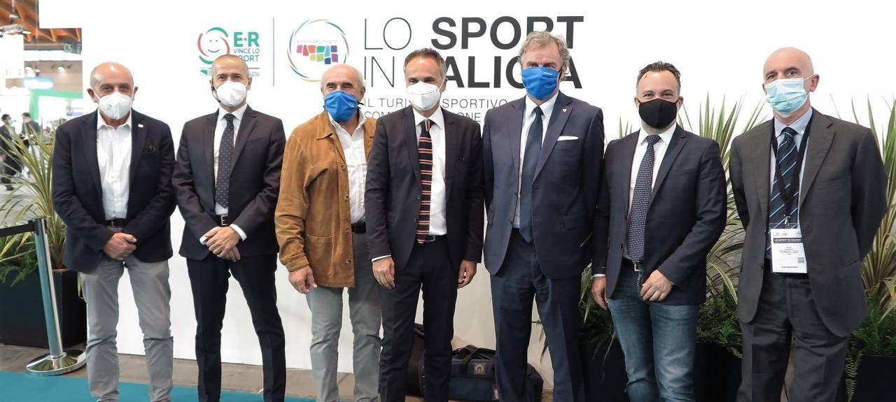 I protagonisti dell'incontro '. Arenili e Appennino dell'Emilia Romagna: una palestra a cielo aperto'