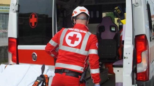 E' intervenuta la Croce rossa
