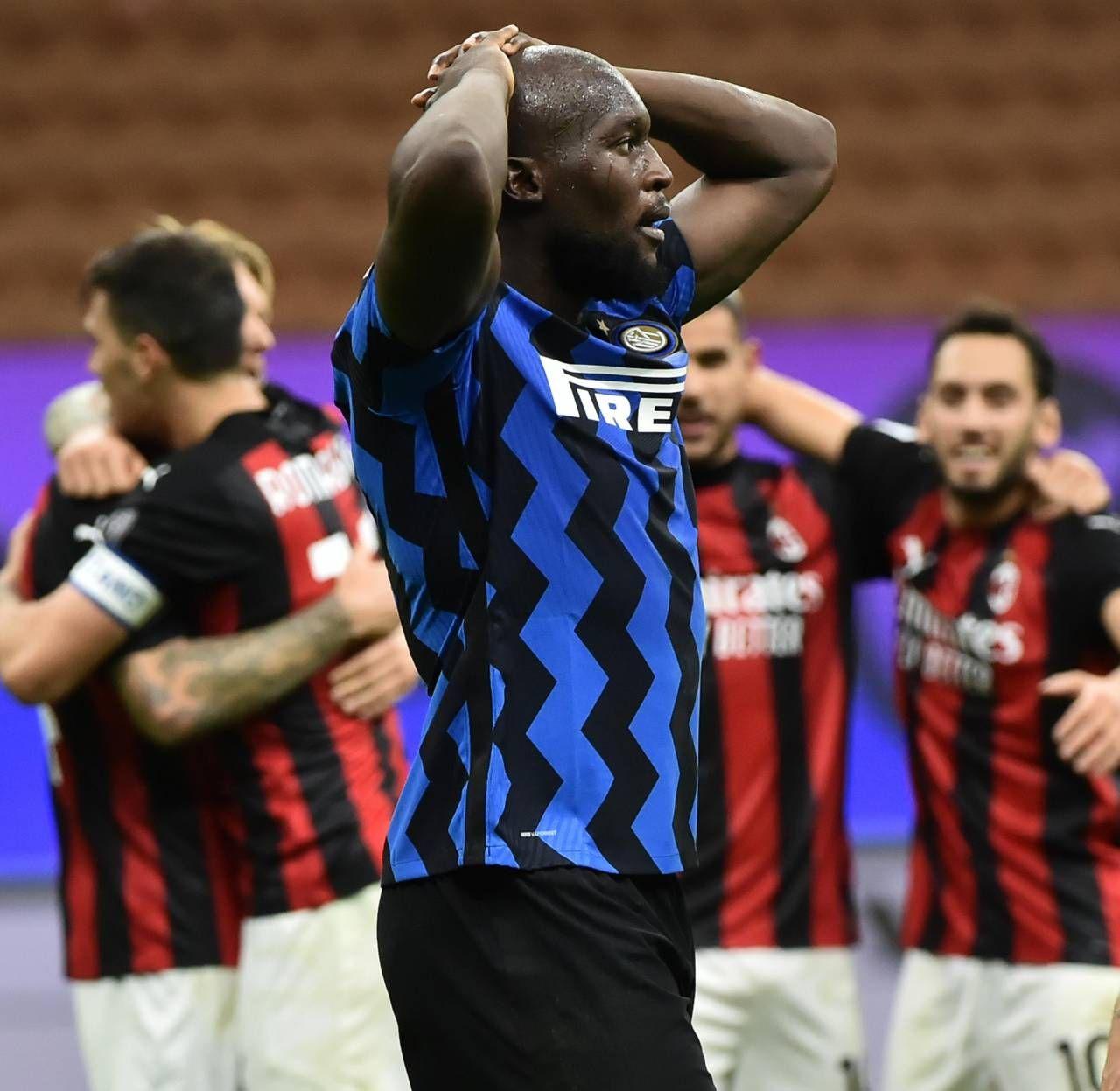 La disperazione di Romelu Lukaku, 27 anni: ieri un gol, ma tante occasioni mancate