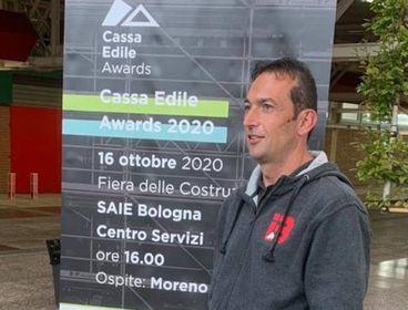 A Giuliano Bertolazzi l'importante riconoscimento che celebra l'impegno
