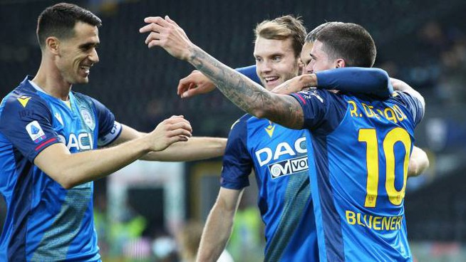 Udinese-Parma (Ansa)