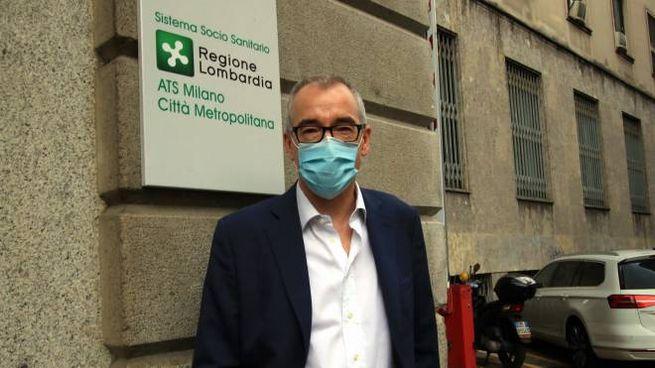 Il dg di Ats Milano, Walter Bergamaschi