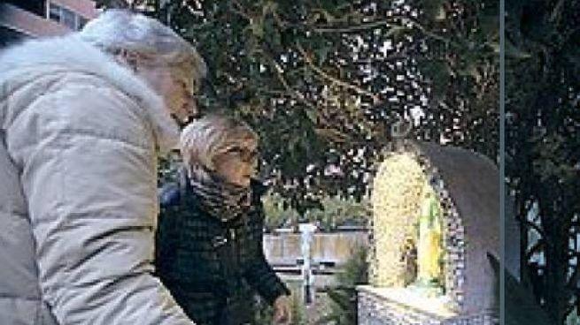 La statuetta della Madonna