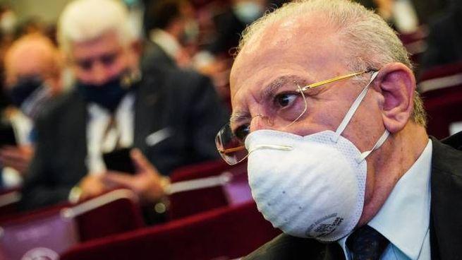 Il presidente della Regione Campania Vincenzo De Luca (Ansa)