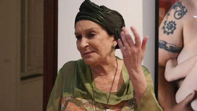 La critica Lea Vergine (Fotogramma)