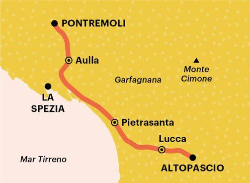 Tra Liguria e Toscana