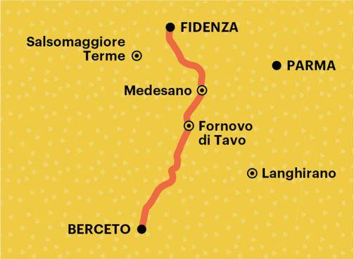 La Via Francigena,tra boschi e strade lastricate